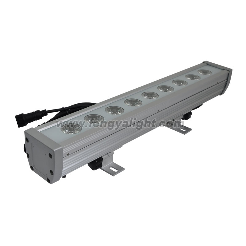 9*10W RGBW Quad Linear LED Wall Washer Bar waterproof IP65