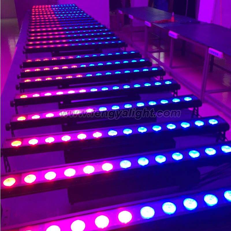 14x30W rgb 3 in 1 pixel outdoor led wall washer lights stage lighting
