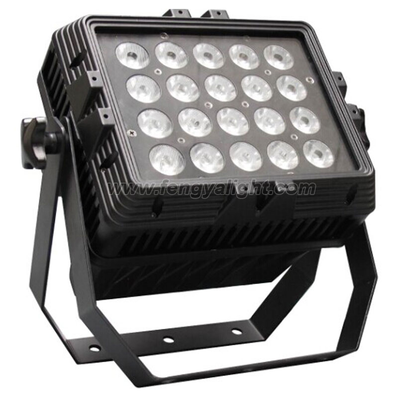 20x15w rgbaw 5 in 1 led panel washer bar light outdoor lighting
