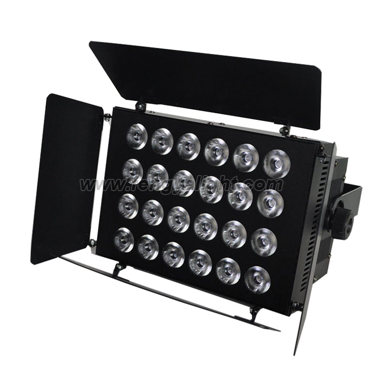 24x10w rgbw 4 in 1 LED washer indoor bar stage light