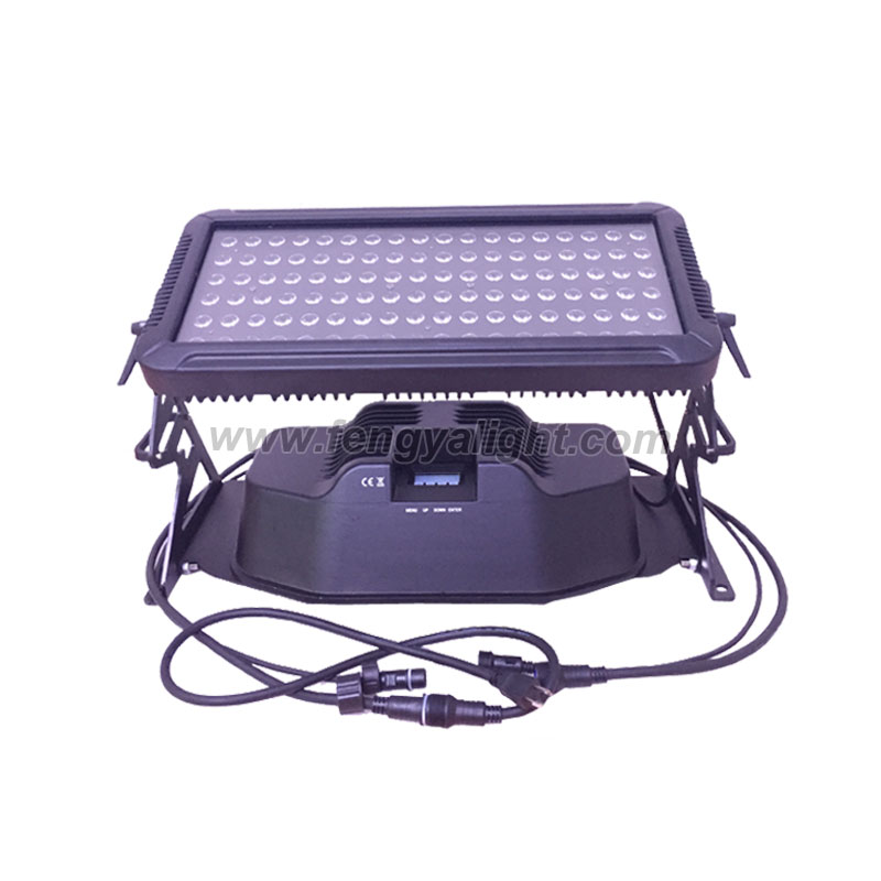 108x3w rgbw led wall washer light outdoor lighting