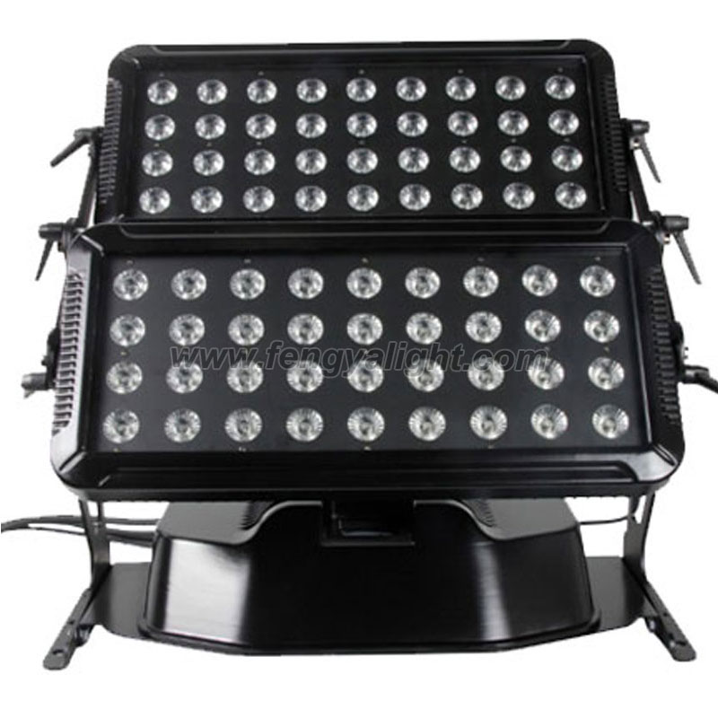 72pcs 10W 4in1 LED Washer Wall Outdoor Lighting