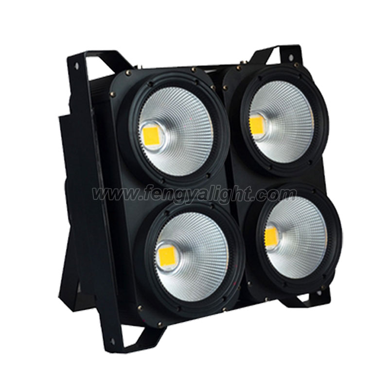 4x100W white Led COB Blinder Light