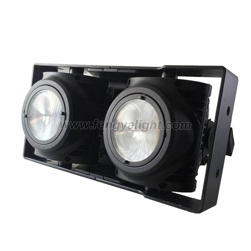 2X100W COB LED blinder light waterproof IP65