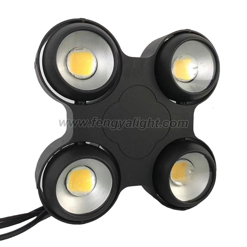 4X100W waterproof IP65 COB LED blinder light