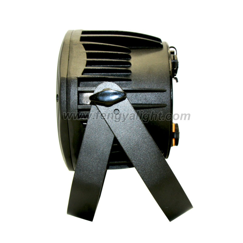 4x15w outdoor battery power dmx wireless IR led par can stage light