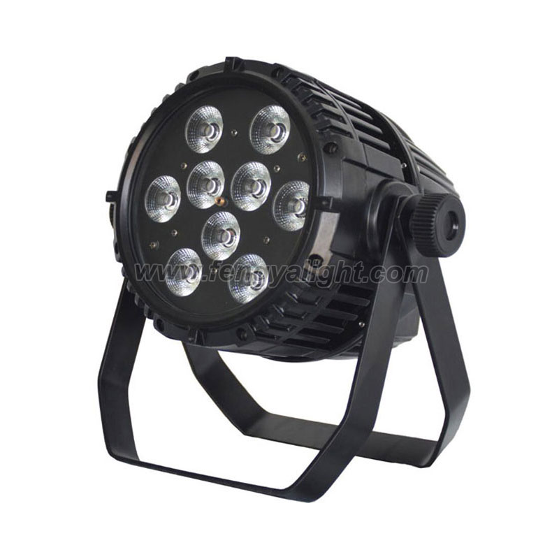 9x18w 6 in 1 outdoor led par battery powered wireless dmx stage light