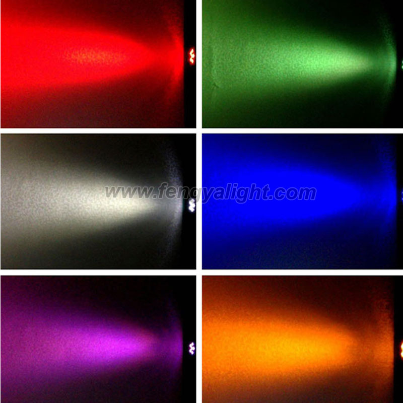 6x15w 6 in 1 outdoor battery wireless led par can light