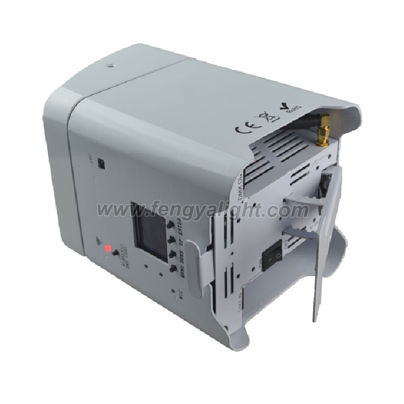 6X18W 6 in 1 battery power & wireless DMX led flat led par can uplights