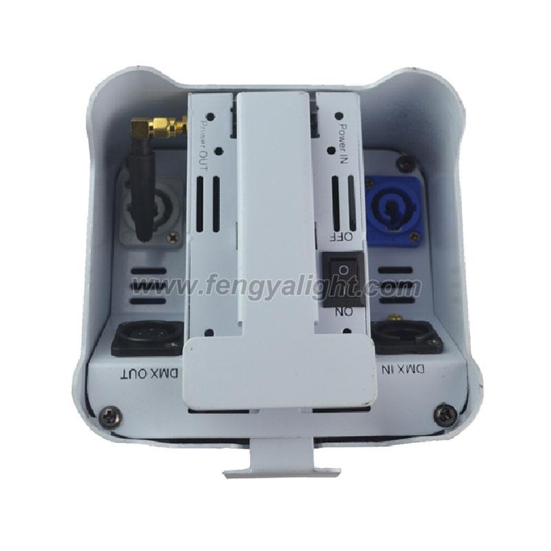 4x18w 6 in 1 battery power & wireless DMX led par can uplights