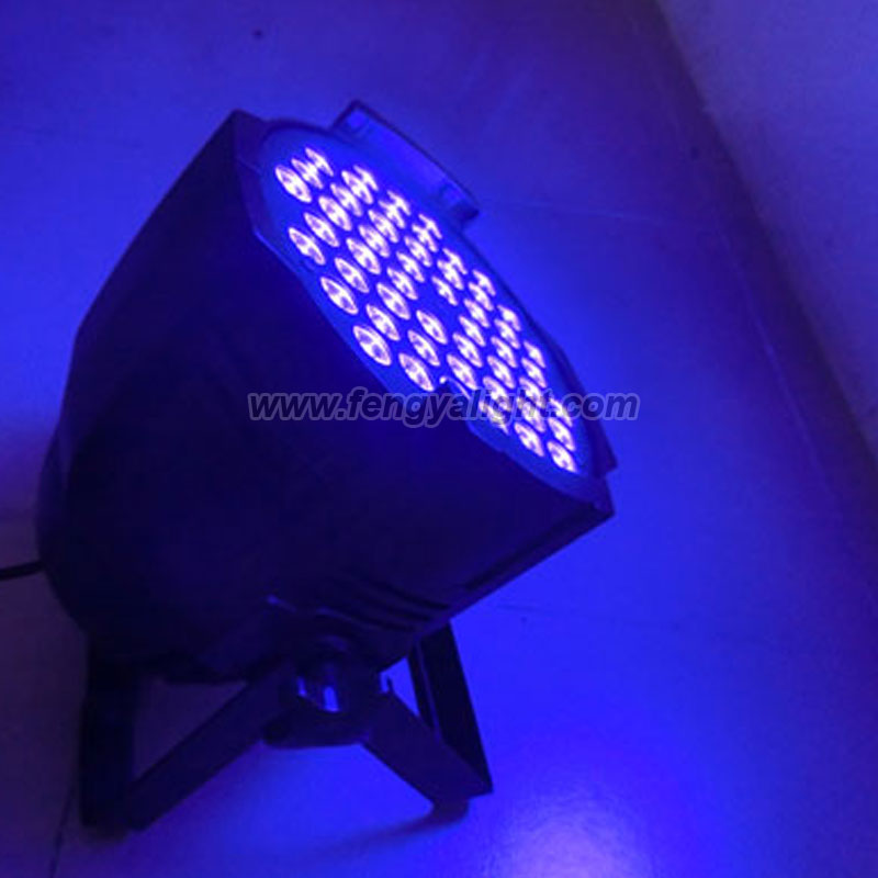 54x3w uv led blacklight par 64 can