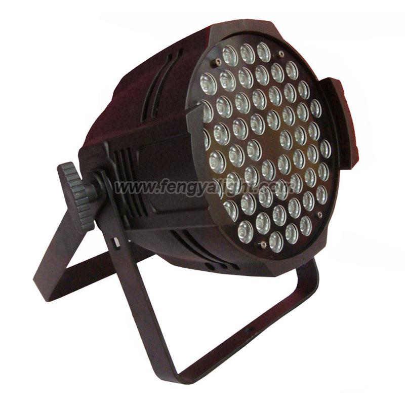 54x3w White led par 64 can church lighting