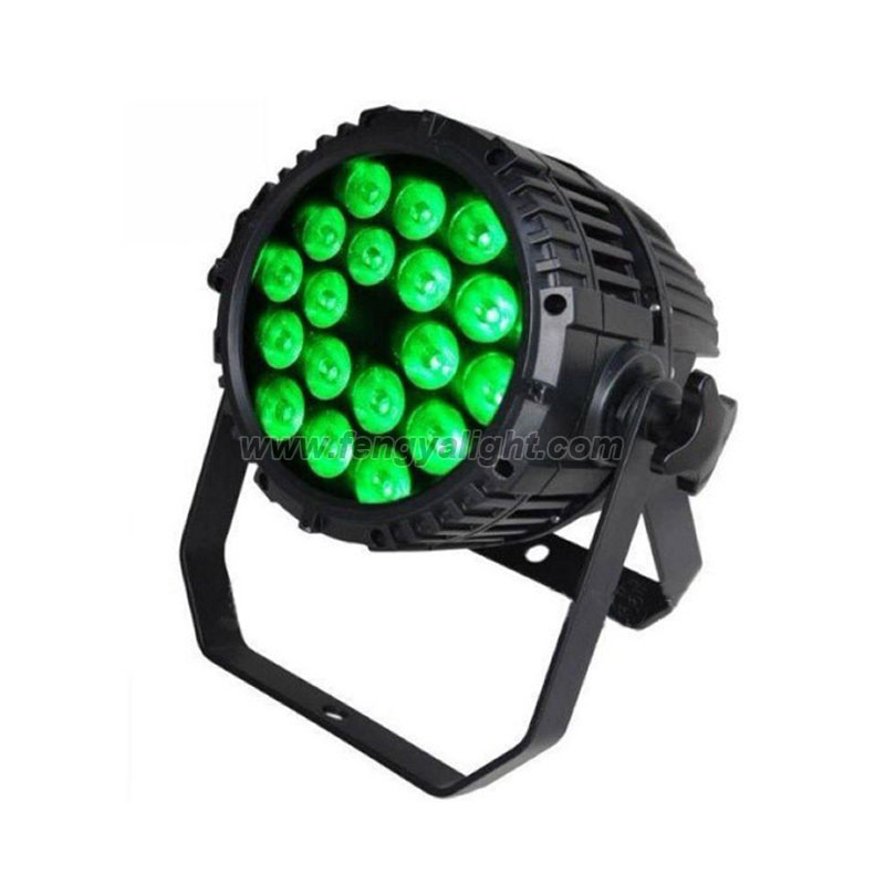 18x15W RGBWA UV 6 in 1 outdoor led par can