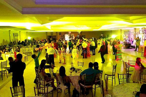 Banquet wedding party in Mexico