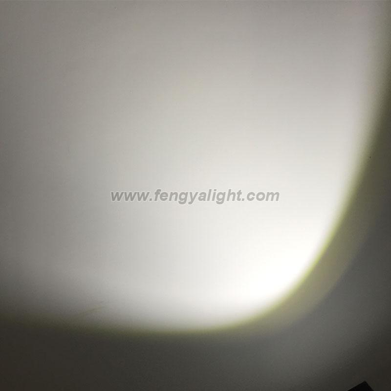 200w cob led par can white color stage lighting