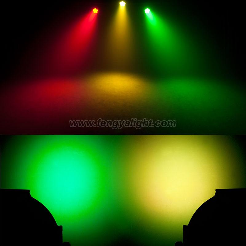 9X12W RGBAW UV 6in1 led par64 can