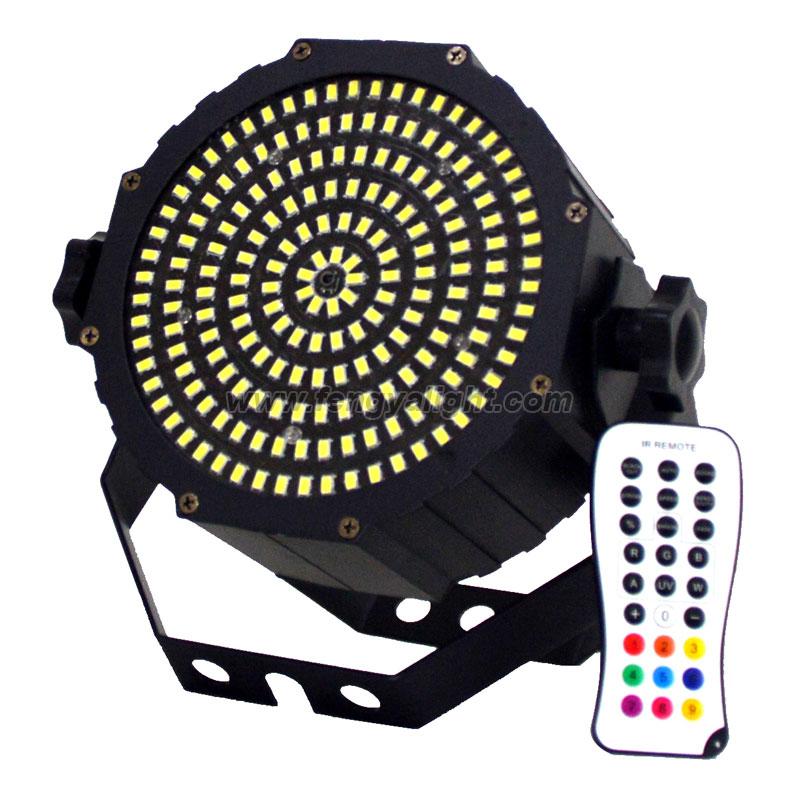 189x0.5w white led strobe light with remote dmx