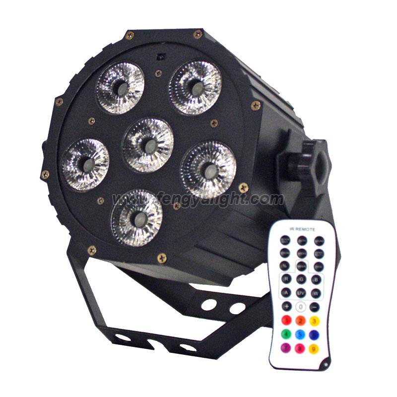 6x12w RGBWA UV 6in1 cheap led par light