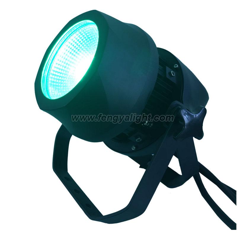 200W RGBW COB Outdoor LED PAR CAN light