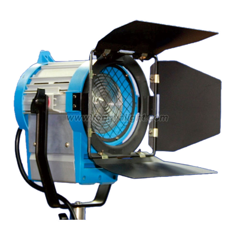 As Arri 650watt fresnel tungsten spotlight