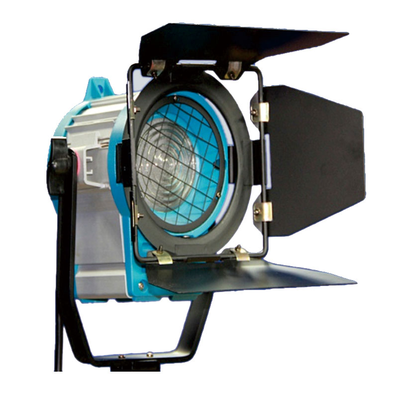 As arri 300W Fresnel tungsten spotlight