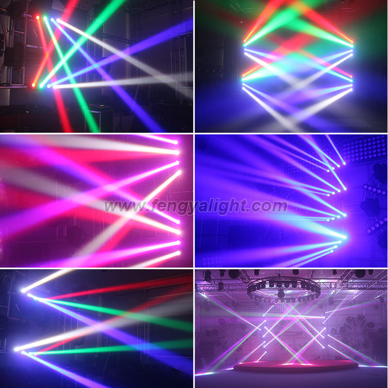 4x32W RGBW 4in1 LED beam moving head light