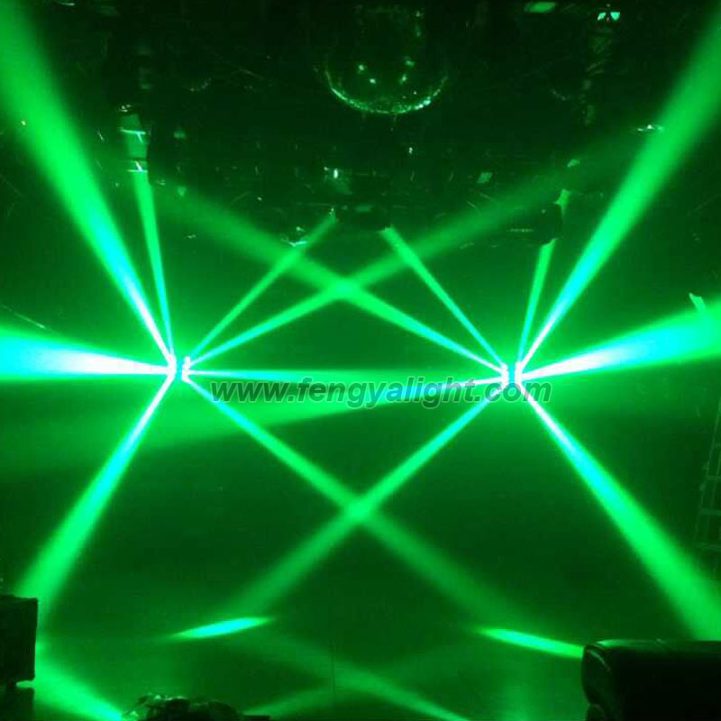 8x10w RGBW 4 IN 1 led spider beam moving head light
