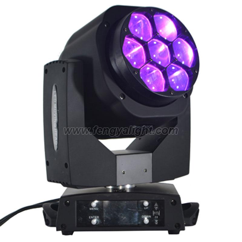 7x15w mini led bee eye zoom moving head light