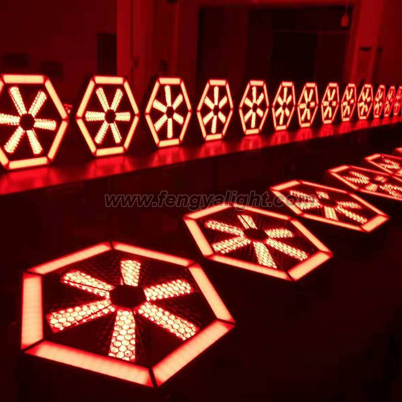 Infinite whirlwind LED pixel stage background light_China's best LED