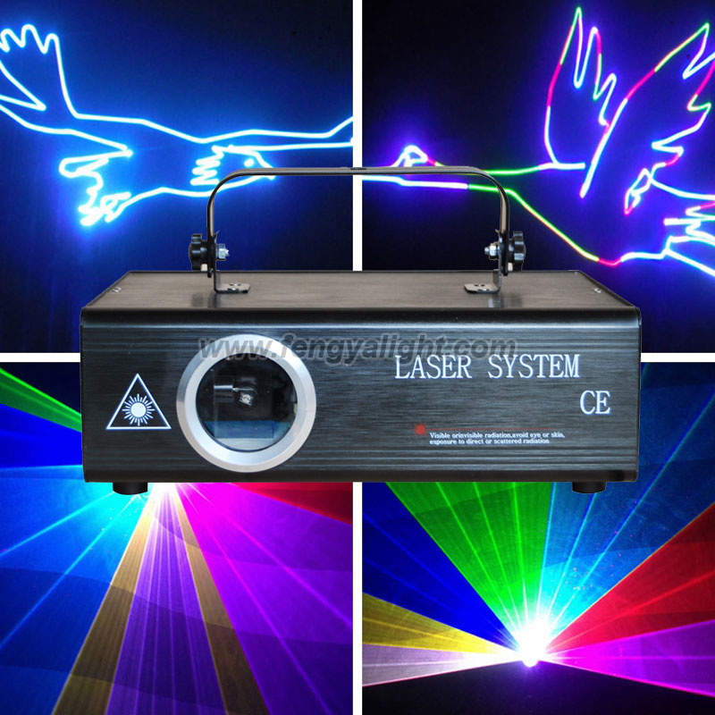 1000mw rgb full color ILDA animation laser light