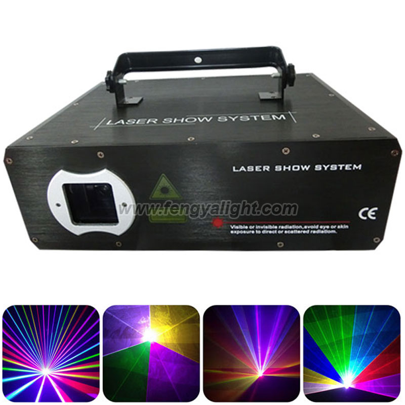 2W RGB full color laser show stage light