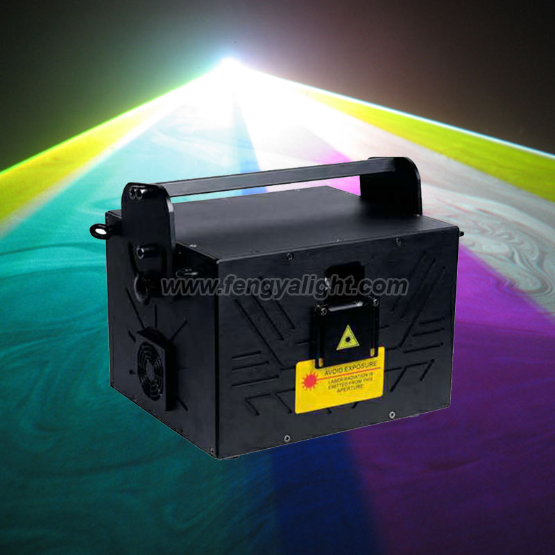 3W RGB full color laser show stage light