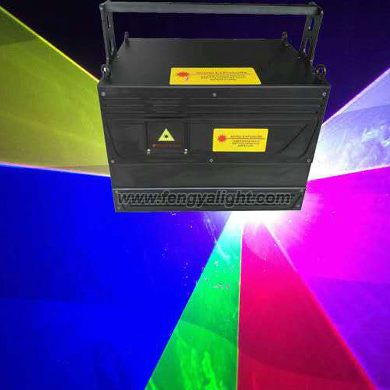 5W RGB  ILDA animation laser show stage light