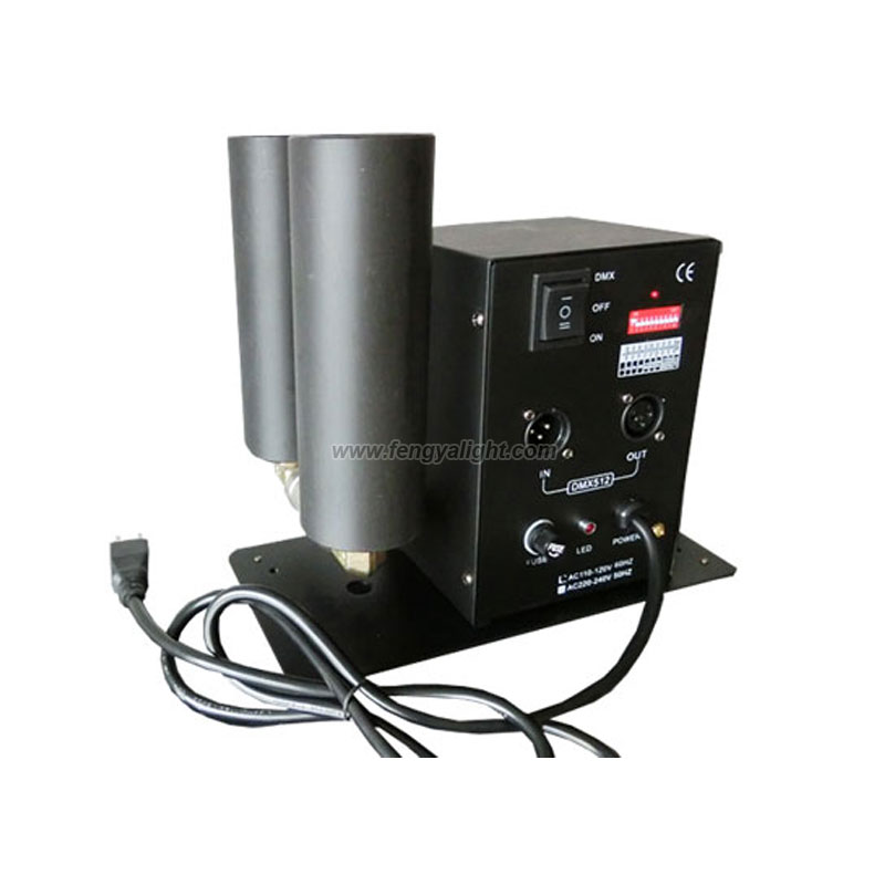 8-10m Height double barrel Stage Effect CO2 Jet machine