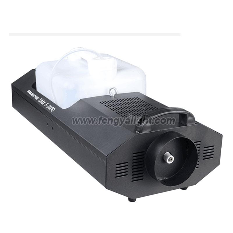 3000w DMX 512 stage effect fog smoke machine