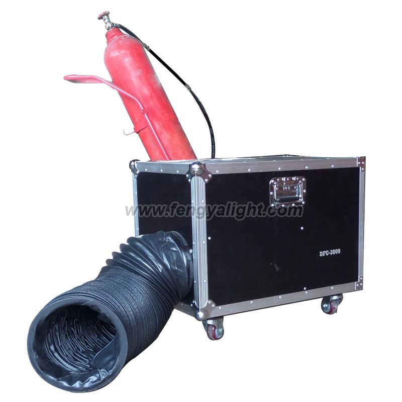 3000W CO2 Low fog machine