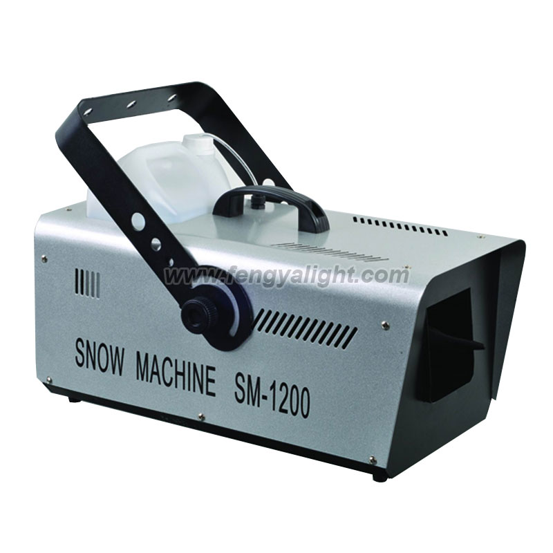 1200w Stage effect snow machine