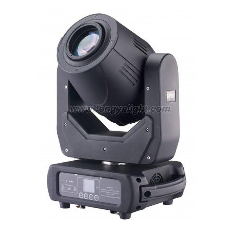 super 200w led spot moving head light with rgb cycle leds