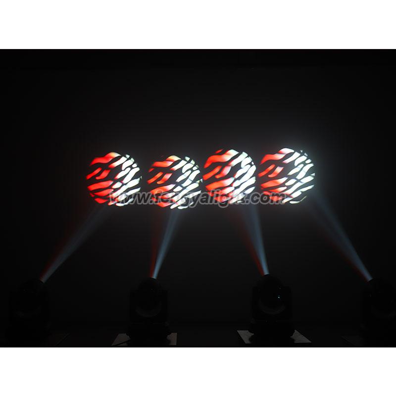 water ripple effect 150w LED spot moving head light