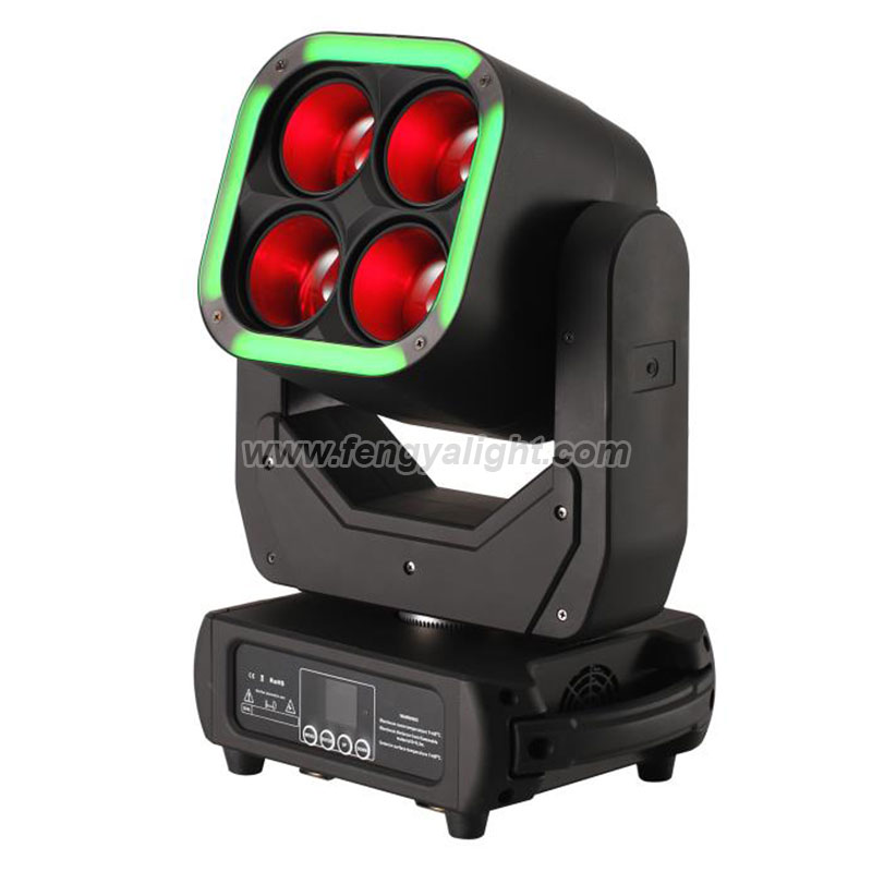 4x60w zooming led beam washer moving head light