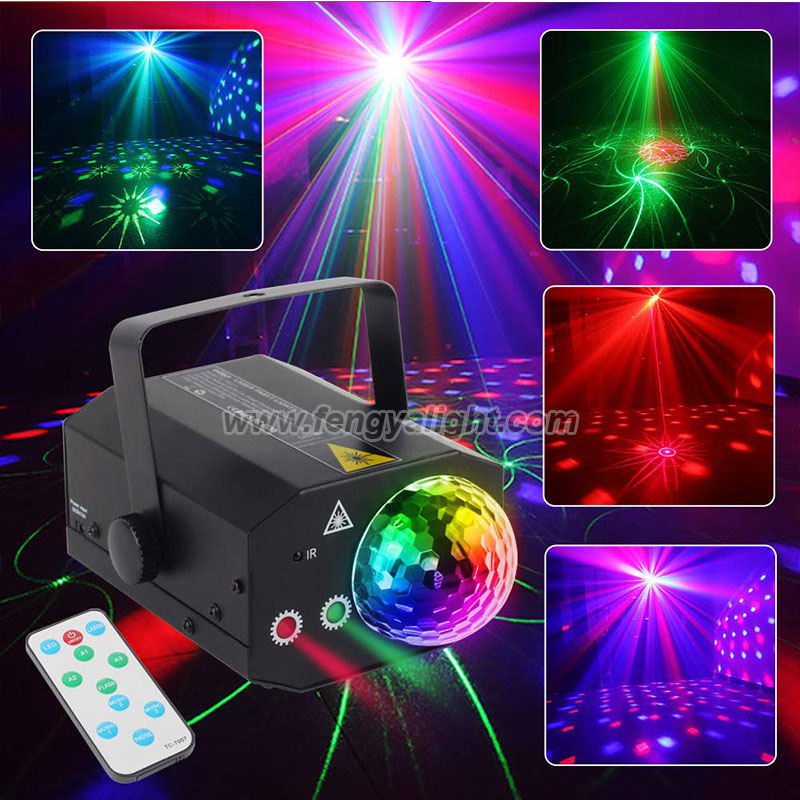 RGB LED Magic Ball stage laser light for Party Wedding