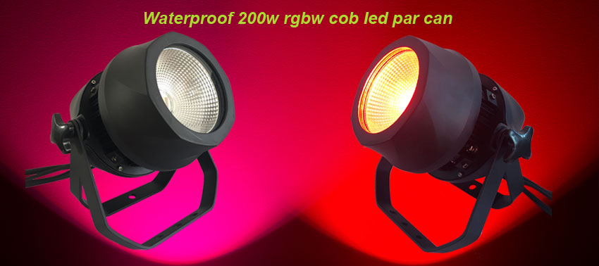 outdoor led par/ cob led par light