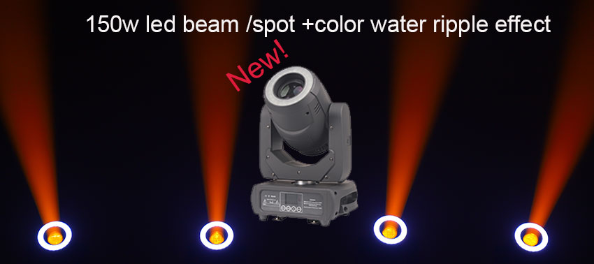 new 150w led beam  spot